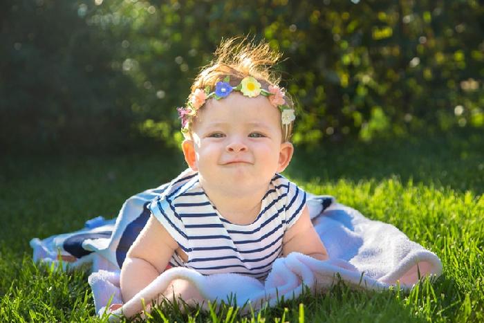 Phơi nắng cho trẻ sơ sinh