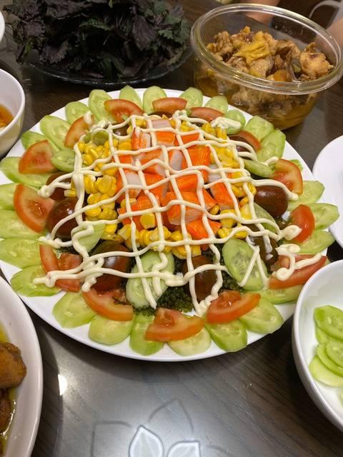 Cách làm Salad rong nho sốt mayonnaise