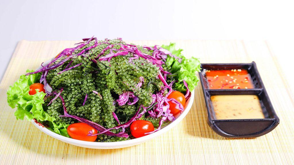 Mách bạn 6 cách làm salad rong nho ngon bổ dưỡng